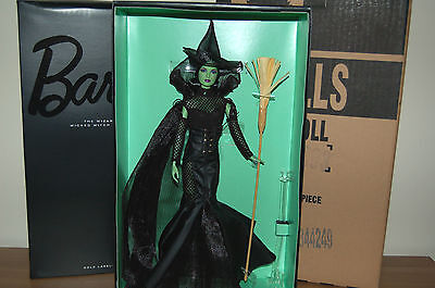 2014 Gold Label Wizard of Oz FANTASY GLAMOUR WICKED WITCH Barbie - NEW RELEASE