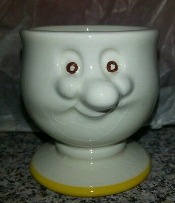 "CARLTON WARE NOVELTY EGG CUP ""THE MUSTARD SHOP NORWICH"""