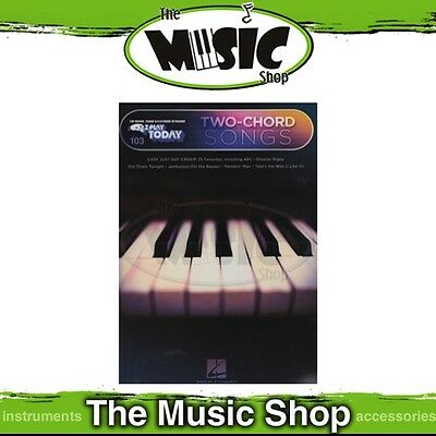 New EZ Play #103 Two-Chord Songs Piano Music Book - Easy Play