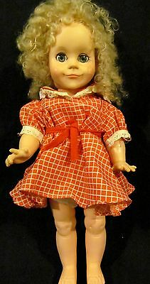 VINTAGE DOLL-LESNEY-DOLL-CO17-INCH-1970.S-GOOD-COND