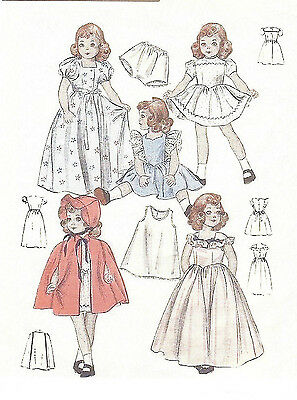 """6349-3626 Vintage Chubby Doll Pattern Size 21"""" -- Year 1958"""
