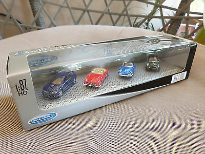 Welly Premium Collection lof of four different die cast Car models set