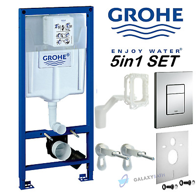 GROHE RAPID SL FRESH 5in1 TOILET CISTERN WC FRAME SKATE COSMOPOLITAN 38827000