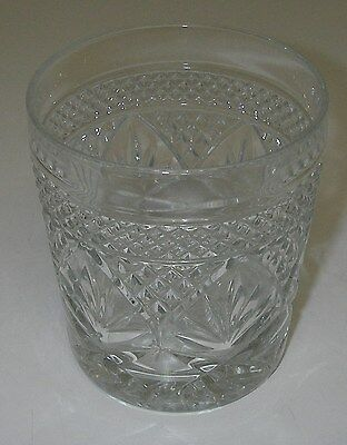 """Cristal d'Arques/Durand Glass ANTIQUE Clear Old Fashioned Tumbler 3¾"""""""