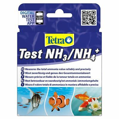 Tetra Test Ammonia Aquarium Water Test Kit Nh3 Nh4+ For Fresh Marine Fish Tank