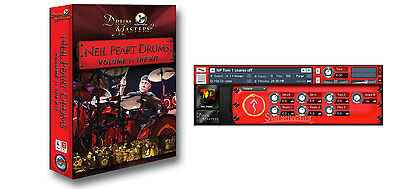 Sonic Reality Neil Peart Drums vol. 1. The Kit (BFD expansion version)