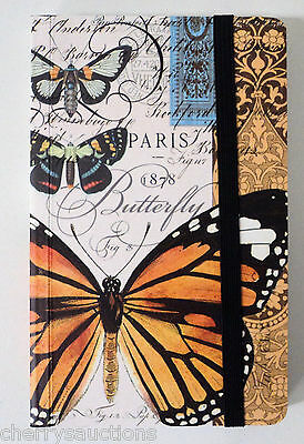 BUTTERFLIES butterfly NATURALISTS LIBRARY BLANK LINED BOOK JOURNAL travel diary