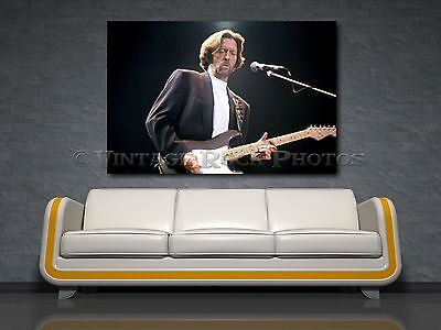 Eric Clapton 32x48 inch Fine Art Gallery Canvas Print Pro Photo Framed Gilcee 39