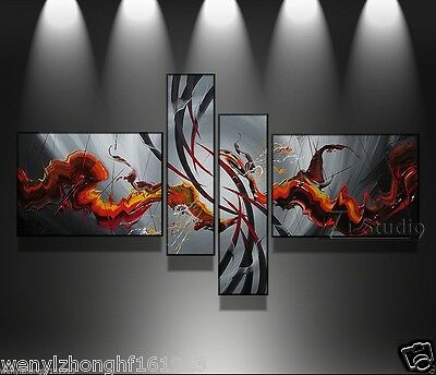 (no Framed)HANDMADE MODERN ABSTRACT HUGE LARGE CANVAS ART OIL PAINTING