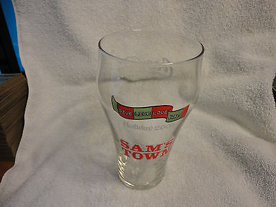 16 oz. 2005 Sam's Town & Coca Cola Holiday Glass from Shreveport