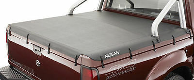 Genuine Nissan Navara D22 STR Dual Cab Soft Tonneau Rear Cargo Cover Dec 2008 On