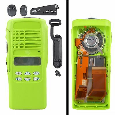 Green Replacement Housing Case Display For Motorola HT1250 Limited-keypad Radio