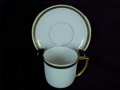 KAISERIN MARIA THERESIA CARLSBAD AUSTRIA DEMITASSE CUP AND SAUCER