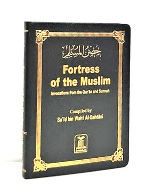 SPECIAL OFFER: Fortress of the Muslim (Deluxe Leathery Effect) Pocket Size-Black