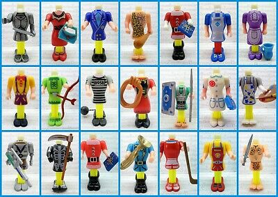 PEZ - BODY PARTS #2 - MANY DIFFERENT - Please select !!!