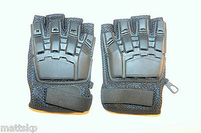 Paintball Airsoft Tactical Gloves Half Finger  Large