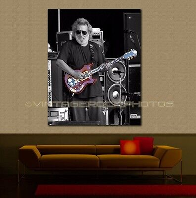 Jerry Garcia Grateful Dead 20x30 Art Gallery Canvas Print Framed Ltd Ed Design 4