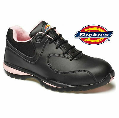New Dickies Medway Black Waterproof Safety Work Boots Shoes Hiker Steel Toe Cap