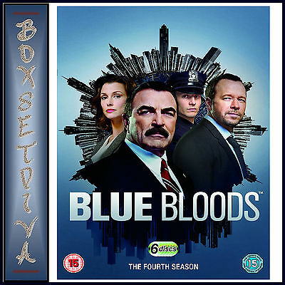 Blue Bloods - Complete Fourth Season - Season 4 **brand New Dvd **