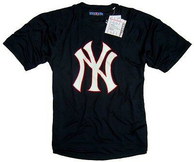 JERZEES New York Yankees T-Shirt Major League Baseball navy NEU
