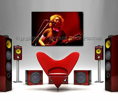 Jerry Garcia Grateful Dead 20x30 Poster Size Photo Live Concert Studio Print D10