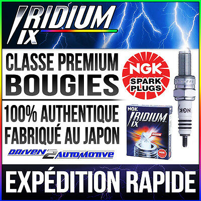 2x NGK IRIDIUM IX CR7EIX 7385 BOUGIES FITS YAMAHA XP500 TMAX 530 12–>