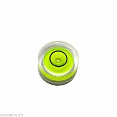 ONE Magnetic 14mm X 8mm Disc Bubble Spirit Level Round Circular Circle Yellow