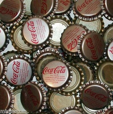 Soda pop bottle caps Lot of 25 COCA COLA Cambridge MD plastic new old stock