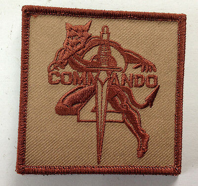 Canadian Airborne 2 Commando Patch Desert Hook&Loop #25793