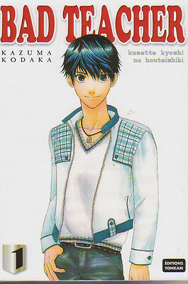 BAD TEACHER tome 1 Kazuma Kodaka Ya Oi Boy's Love Manga VF YAOI