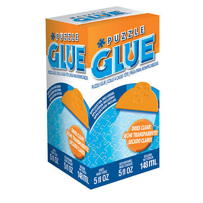 New Masterpieces Puzzle Glue Includes Easy to Use Applicator 50202