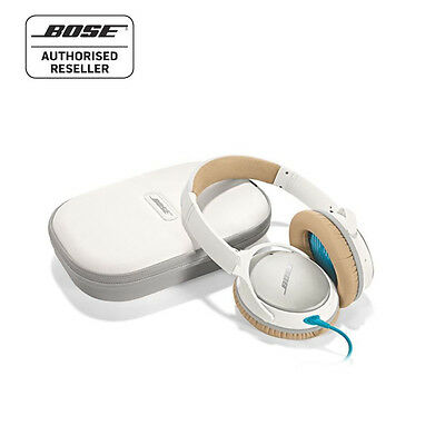 BOSE QC25 Quiet Comfort Noise Cancelling Headphones - White. Made for Apple