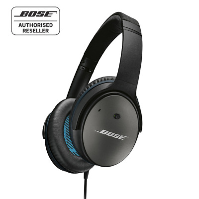 BOSE QC25 Quiet Comfort Noise Cancelling Headphones - Black - Made for Apple