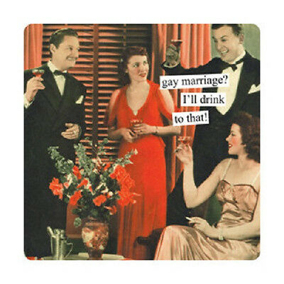 New Anne Taintor 40 Retro Fun Humor  Paper napkins gift - GAY MARRIAGE