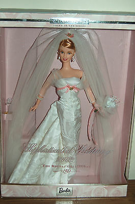 2001 Collector Edition Bridal Collection Blonde SOPHISTICATED WEDDING BARBIE