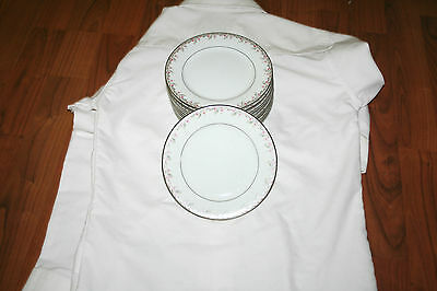 "Noritake China 5507 Petite 6 1/4"" Bread & Butter Plates 11 Available"