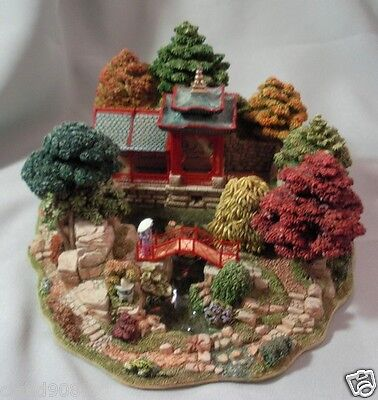 """Lilliput Lane """"reflections Of Jade- Limited Edition 1536/3950 Mint In Box 00012"""