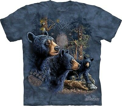 """The Mountain Bambini T-SHIRT /""""find 10 Brown Bears/"""""""