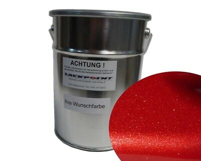 1L Basecoat Spray Finish Royal Red Metallic Car paint Candy Red Tuning Lackpoint