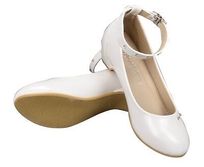Girls (3-10 Years) Low Heel Flower Girl Dress Up Shoes - 9959