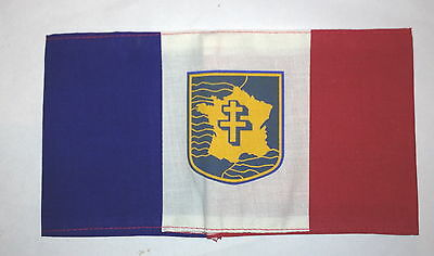 FREE FRENCH ARMY FFI  FRENCH RESISTANCE Armband type TRI SCREEN PRINTED