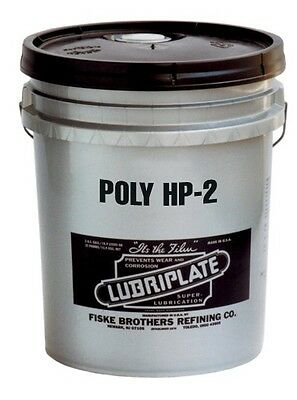 LUBRIPLATE POLY HP-2, L0191-035, Polyurea-Thickened Type Grease, 35 LB PAIL