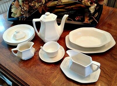 Vintage Adams and Sons English China Micratex 13 Pieces