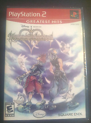 PLAYSTATION 2 PS2 GAME KINGDOM HEARTS RE: CHAIN OF MEMORIES BRAND NEW & SEALED