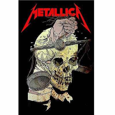 METALLICA Harvester Of Sorrow POSTER FLAG Official Fabric Premium Textile NEW