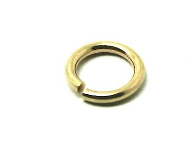KAEDESIGNS, Silver, 9ct Yellow, Rose or White GOLD, many sizes OPEN JUMP RING