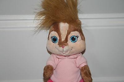 Build A Bear Alvin Girl With Red Dress
