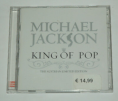 2 CD/MICHAEL JACKSON/KING OF POP/AUSTRIAN LIMITED EDITION/opendisc 88697356262