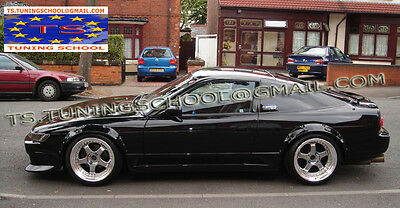 Nissan 200Sx S13 Fender Flares - Abs - Wheel Arch Extensions 5 Cm !!new!! New !!