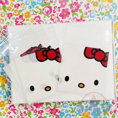 15 pc Hello Kitty Self Adhesive Seal Bag Plastic Jewelry Packing Gift Bags